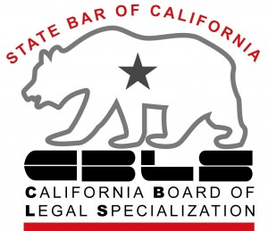 Yvonne Ascher is certified by the State Bar of California (California Board of Legal Specialization)